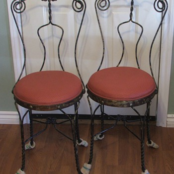 Ice cream parlor chair - Furniture