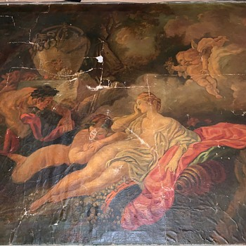 17th Century Italian Oil Painting?  Giovanni Segala? - Fine Art