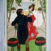 ART NOUVEAU POSTCARD 1908 STYLISTIC,HARDER TO FIND TYPE