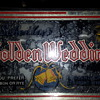 Golden Wedding Whisky Light Up SIgn