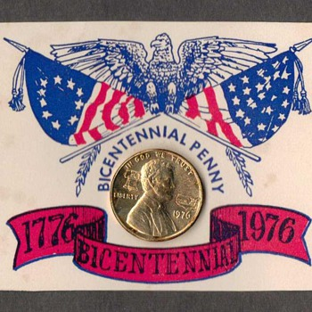 1976 - Bicentennial Lincoln Penny - US Coins