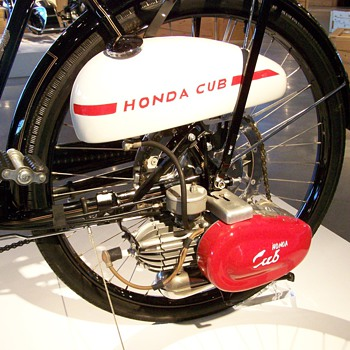 1952 Honda F Cub Bicycle Engine - Motorcycles