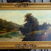 Antique Oil Painting: L. Haines, Edwardian?