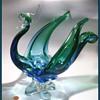 LORRAINE GLASS -  ( Canada ) - ART GLASS BIRD