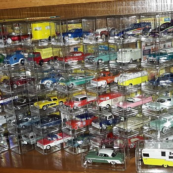 My Exciting New Display of 1:64 Scale Diecast Vehicles  - Model Cars