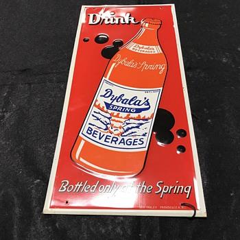 Dybalas soda sign  - Signs