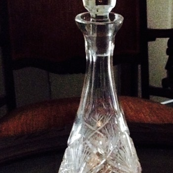 Mystery Crystal Decanter  - Bottles