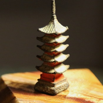 Lead Pagoda - Game piece? - Toys