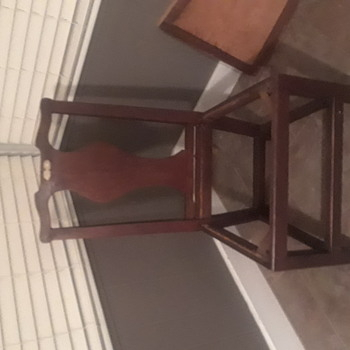 Wood side chair dated 1769
