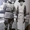 Vintage WWI US Marine Officer and his lady....