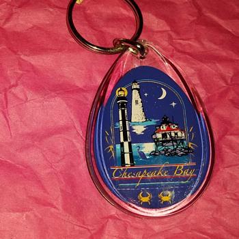 Chesapeake Bay Lighthouses Key Chain... - Advertising