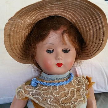 Unknown Talking Bisque French doll - Dolls
