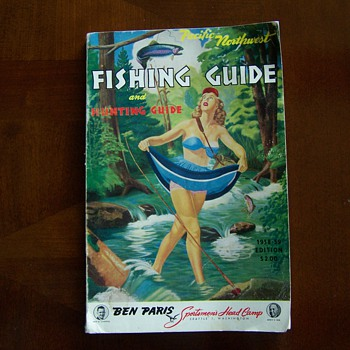 1958-59 Pacific Northwest Fishing and Hunting Guide - Paper