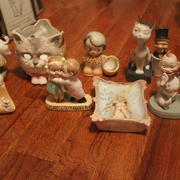 An Organised Gallimaufry: My Schafer and Vater All-Bisque Collection - Figurines