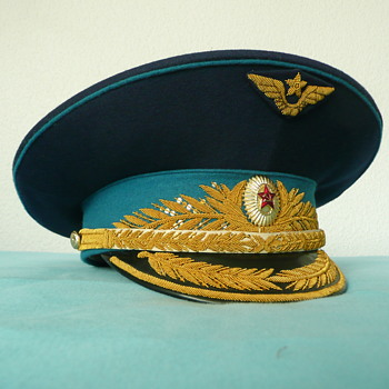 Soviet Parade Visor Cap of an Air Force General - Military and Wartime