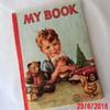 Unusual Vintage USA Chidren's Fabric Booklet - 1948 Hampton Publishing Co.