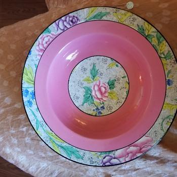 Rare pink swansea lace shelley china - China and Dinnerware