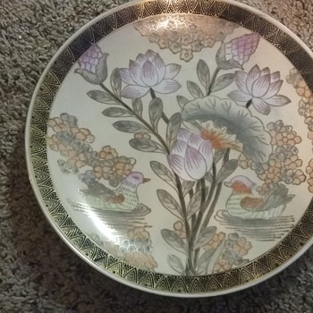 Info on these plates please  - Asian
