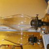 Two Oil Lamps and One Rail Road Lantern