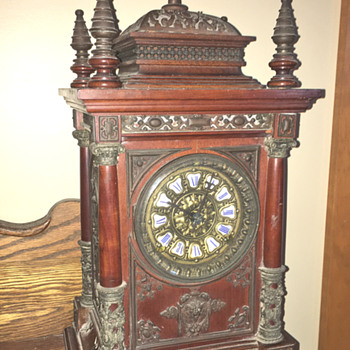 Ansonia mantle clock, circa 1880 - Clocks
