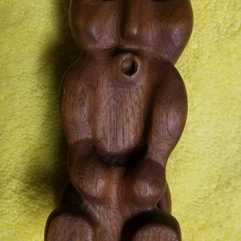 Wood Carved Figure  - Native American