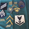 More Treasures from the Biscuit Box! American Military Patches!!!