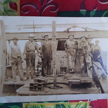 Vintage photo, Occupational, What?  Sign painters? - Photographs