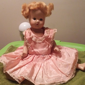"""15"""" composition doll no markings - Dolls"""
