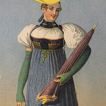 Print of a Woman with LONG Green Gloves - Posters and Prints