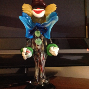 Formia glass clown