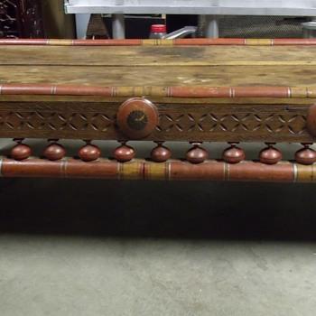 Oriental Cofffe Table  - Furniture