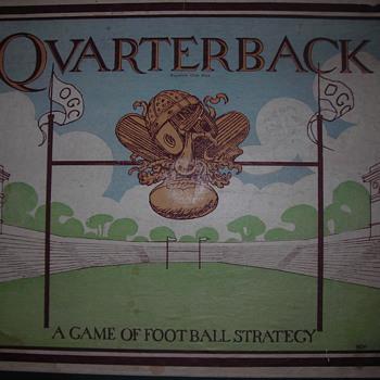 """Quarterback"" board game"