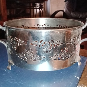 Antique silver cheffing   - Silver