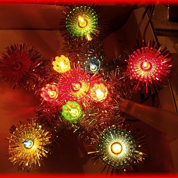 Another CHRISTMAS TREE TOPPER - STAR( Family one ) - Christmas