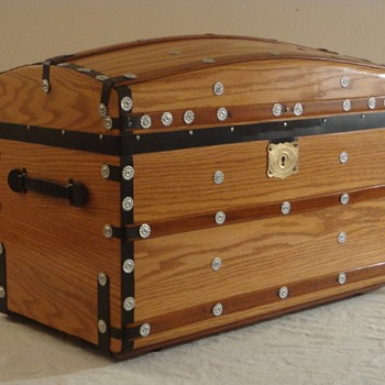 Restored Antique Trunk - Furniture