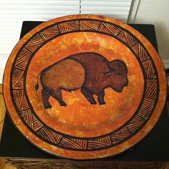 Buffalo Plate Native American? - Native American