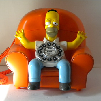 Homer Simpson Phone - Telephones