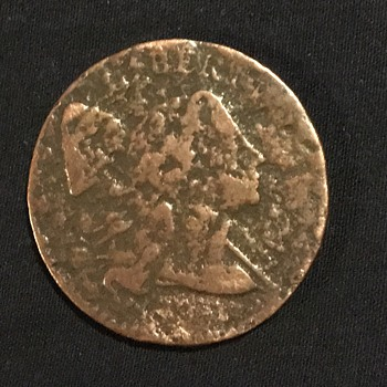 Late 1700's United States large cent  - US Coins