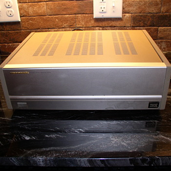 GOLD Marantz Amplifier and the Loud Speakers - Electronics