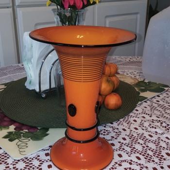 Art Deco Loetz vase! - Art Glass