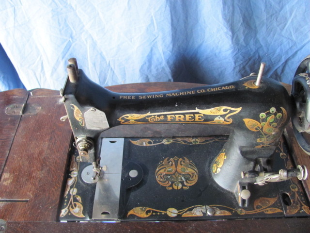 The Free Sewing Machine Co Chicago Collectors Weekly Amazing Complete Sewing Machine Chicago