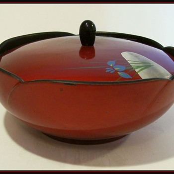 Japanese - Lidded Candy Bowl  - Asian