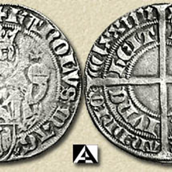 1374 Aachen Turnosgroschen, 1391 Dated Sichem & Schonvoorst,1487 Gelderland Real D'Argent, 1662 Poland Error Spun Die - World Coins