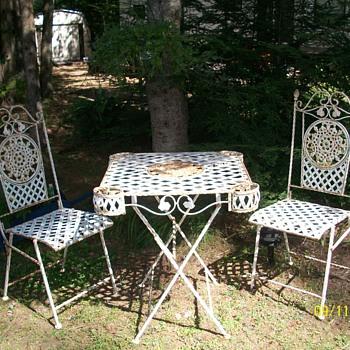 Antique Bistro set - Furniture