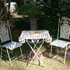 Antique Bistro set