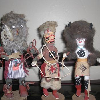 kachina dolls - Native American
