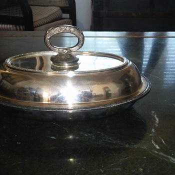 nickle silver dish tray