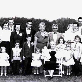 1956 - Family Reunion Photograph - Photographs