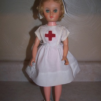 Red cross nurse doll - Dolls