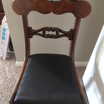 Antique Statesville chair - Furniture